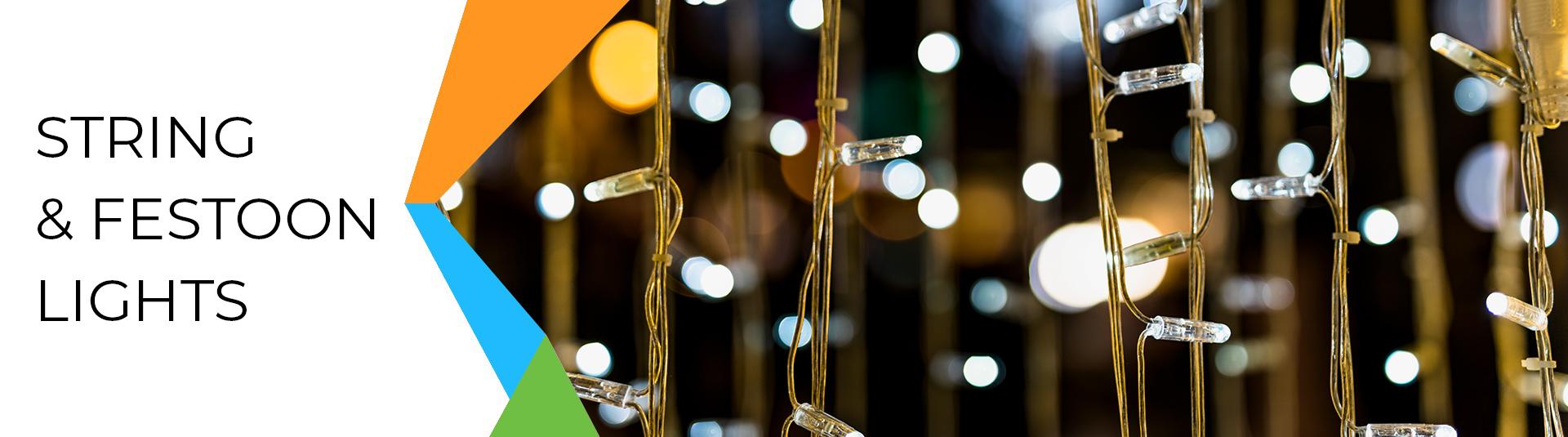 String & Festoon Lights