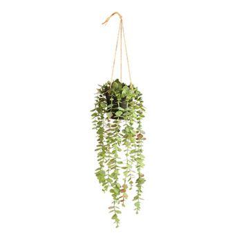 Artificial Plant Eucalyptus 50CM Hanging Pot Fake Realistic Leaves Garden Decor