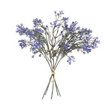 Artificial Plant Babys Breath Bouquet Flower 37CM Purple Fake Realistic Decor