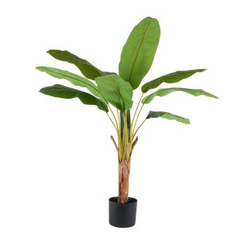 Artificial Plant Banana Leaf Tree 125CM Realistic Touch Garden Home Decor