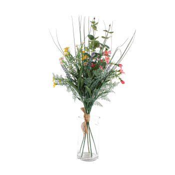Artificial Flower Bloom Eucalyptus Bouquet Plant 68CM Fake Realistic Decor
