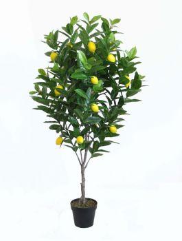 Artificial Lemon Tree Potted 130cm