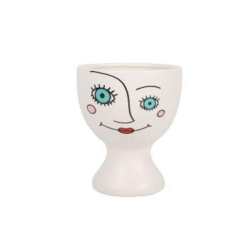 Lulu Face Planter Pot 19.5x16.5cm