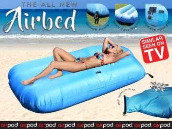 AirPod Blue Air Bed