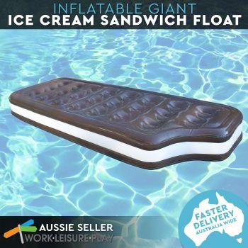 Airtime Giant Ice Cream Sandwich Float 178X69X20CM