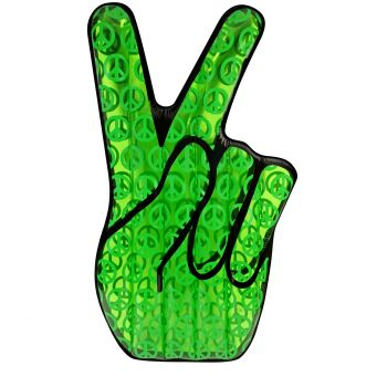 Airtime Inflatable Peace Out Hand Float 196X111X20CM