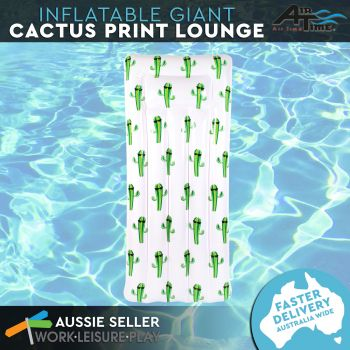 Airtime Inflatable Cactus Air Bed 181X82X22CM