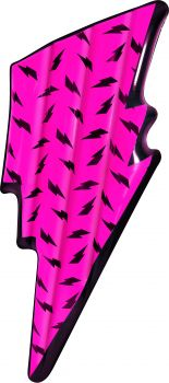 Airtime Giant Inflatable Bolt Air Mat Neon Pink 194X73X17CM