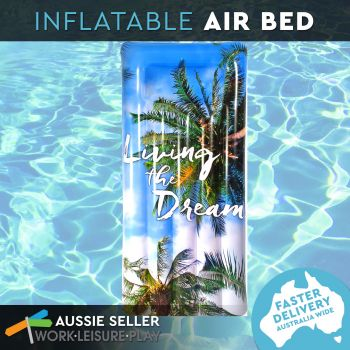 Airtime Inflatable Living the Dream Air Bed 182X82X22CM