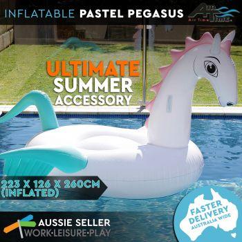 Airtime Inflatable Giant Pastel Pegasus 256X256X137CM
