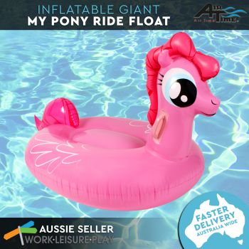 Airtime Inflatable Big Pony Pink 146X80X77CM
