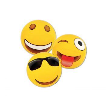 Airtime Inflatable Beach Balls Emoji 70CM Assorted