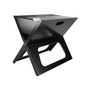 Ironside Foldable BBQ Firepit w/ Carry Bag 495X400X300MM