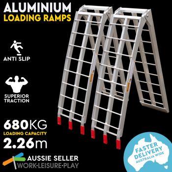 Foldable Aluminum Loading Ramp 2.3M