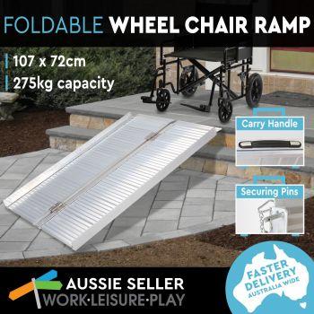 Foldable Wheelchair Ramp | 107X72CM