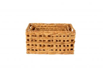 COFFS S3 SEAGRASS LINED BASKETS RND 18X18CM AC HE9591