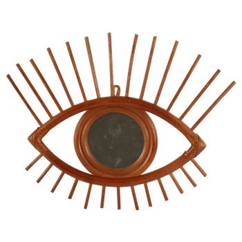 Lanu Eye Mirror 35x30x2cm Boho Coastal Hamptons