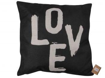 Homexpression MDES49 Throw Pillow Cushion Word Monochrome 45x45cm