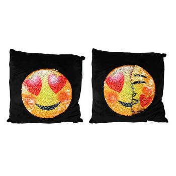 Reversible Emoji Cushion Pillow