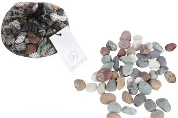 CRUISE MIXED STONES ASST CLRS 1 TO 2CM 1KG BAG