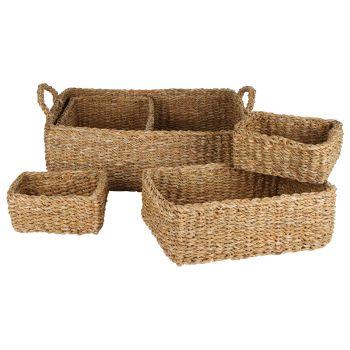 Lennox Tray Baskets Set of 5