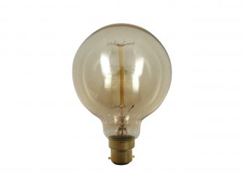 Luminite Bulb Globe Filament Squirrel Cage B22