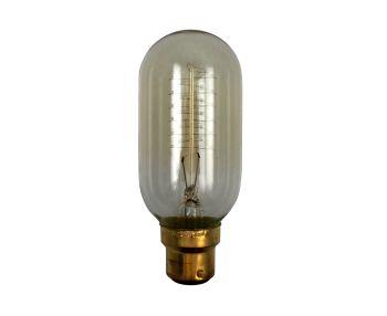 Luminite Bulb Globe Filament Vintage Spiral B22