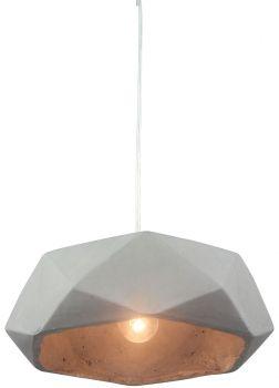 Luminite Concrete Pendant Lance Light Grey