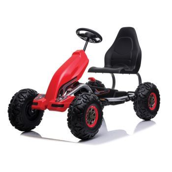 Pedal Go Kart Kids The Monster 118X69X37.5CM Red Ride On Car Toys Racing Bike