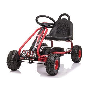 Pedal Go Kart Kids 83X27X52CM Red Ride On Car Toys Racing Bike