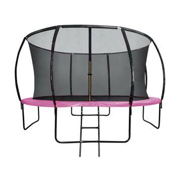 6FT Round Trampoline Pink