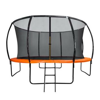 8FT Round Trampoline Orange