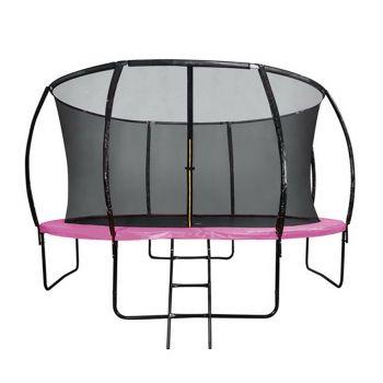 10FT Round Trampoline Pink