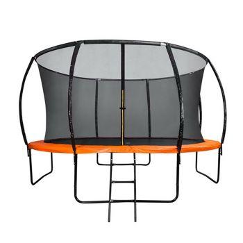 12FT Round Trampoline Orange
