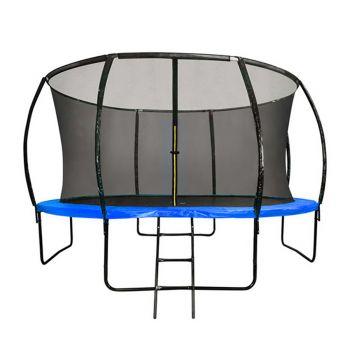 8FT Round Trampoline Blue