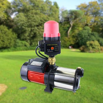 1.5HP Multi Stage High Pressure Water Pump Automatic 10000W Garden Irrigation