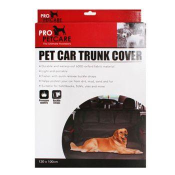 Pet Car Trunk Cover 120x100cm 345g