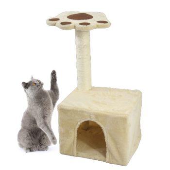 Cat Tree Scratch Post with Dchubby Hosue 35x30x68cm 2000G