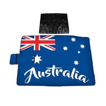Australia Printed Picnic Rug