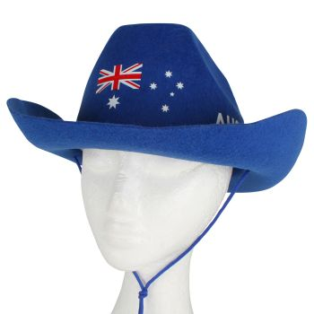 Felt Aussie Cowboy Hat 39 x 30 x 12 cm