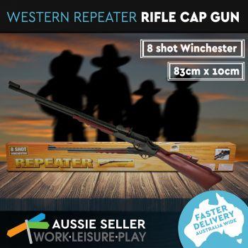 Western Rifle Repeater Cap Gun 83CM