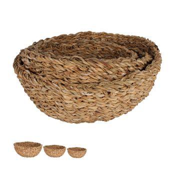 Yeppoon Sea Grass Mini Bowls Set of 3