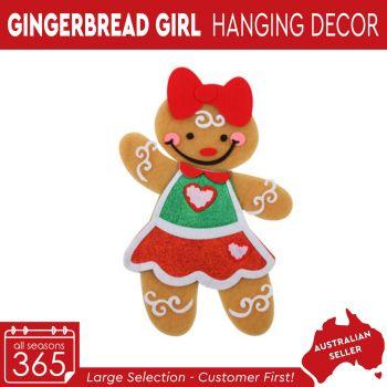 Gingerbread Girl Felt Hanging