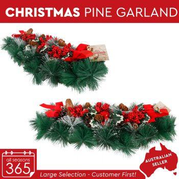 Christmas Pine Needle Table Decorations