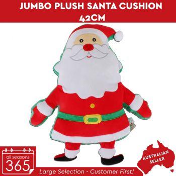 Jumbo Plush Santa Cushion