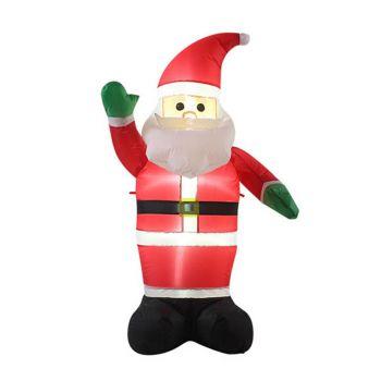 Inflatable Waving Santa