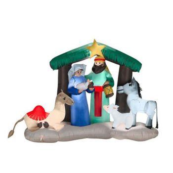 High Inflatable Nativity Scene