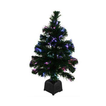 Christmas Tree Fibre Optic 62cm