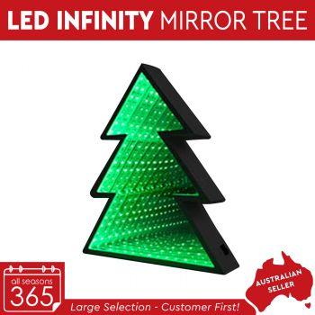 LED Infinity Mirror Lighting Christmas Tree